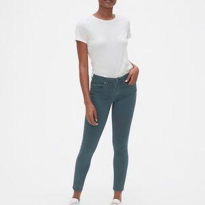 Gap 1969 skinny zipper leg